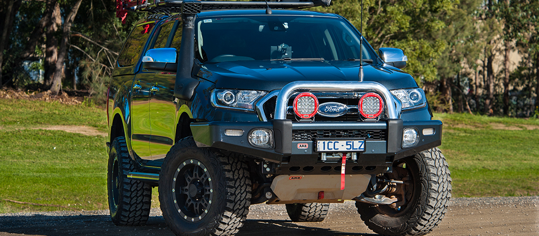 ARB Sahara Bumper Ford Ranger 2016 On Devon 4x4