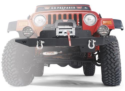 warn winch mount plate - jeep wrangler jk