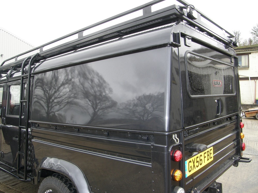 AFN Defender 130 Double Cab Aluminium Hard-top - Lift Up Tailgate - Devon 4x4 - 6012-AFN & AFN Defender 130 Double Cab Aluminium Hard-top - Lift Up Tailgate ...
