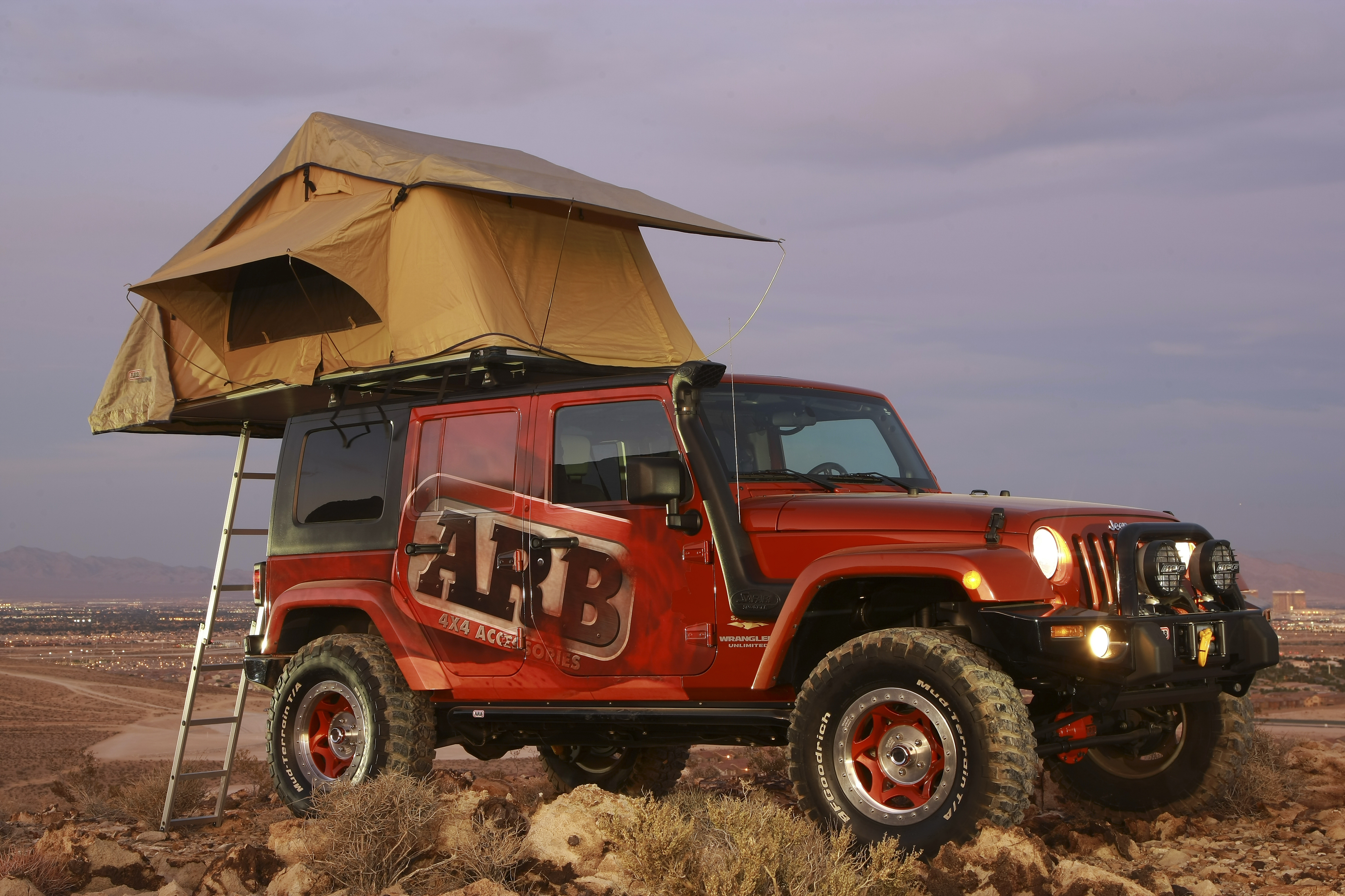 ARB Simpson 3 Roof Tent & Roof Tents - Devon 4x4 - 4x4 specialists