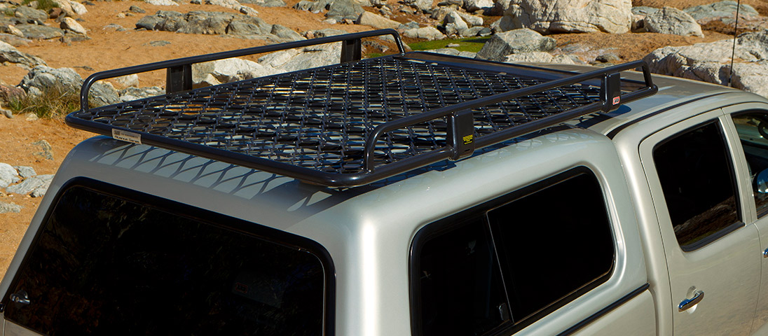 ARB Canopy Alloy Roof Rack With Mesh 1850x1120mm - Devon ...