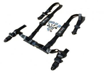 Exmoor Trim 4 Point Fully Adjustable Harness - Black
