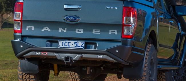 Arb Summit Rear Step Tow Bar Bumper Ford Ranger 2015 On