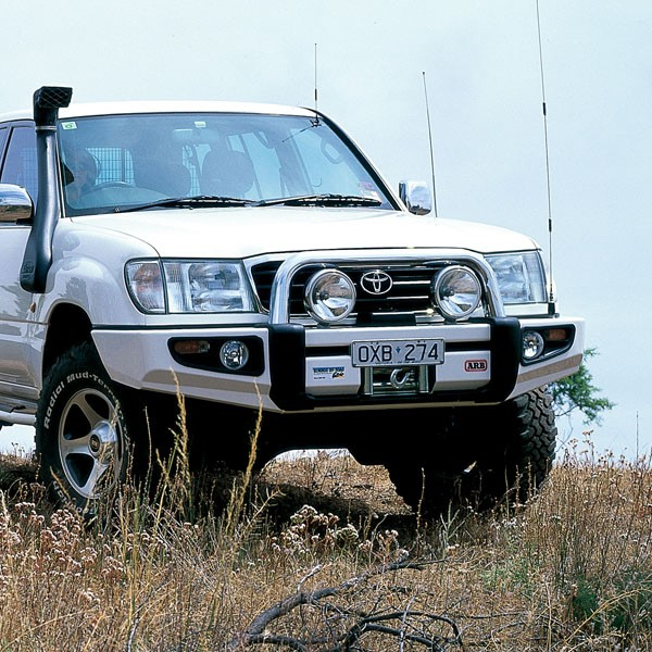 10 Best Land Rover Winch Bumpers Images On Pinterest: ARB Sahara Bumper Land Cruiser 100 Series Coil To 10/02