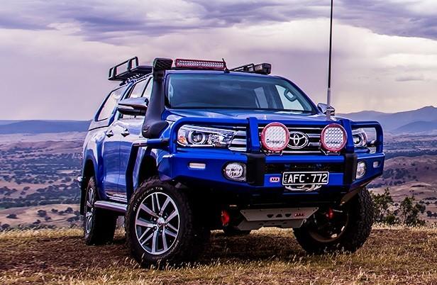 Arb Uvp Set Toyota Hilux 2016 On Devon 4x4 5414200 Abl