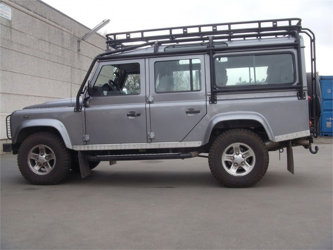 Safety Devices Explorer Roof Rack 110 With Roll Cage