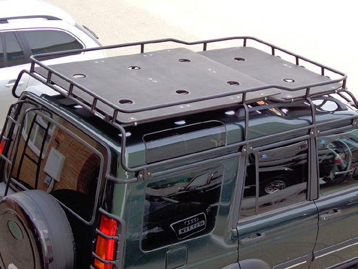 Safety Devices Discovery 2 Highlander Roof Rack Marine Ply