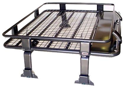 ARB Deluxe Steel Roof Rack With Mesh Floor 1100x1120mm