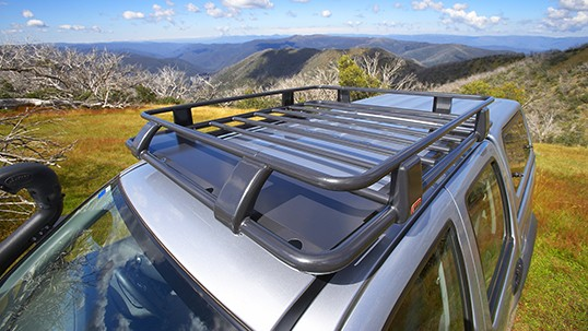 Arb Dual Cab Steel Roof Rack 1250x1120mm Devon 4x4