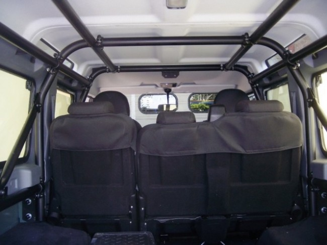 Safety Devices Defender 110 External Internal Roll Cage