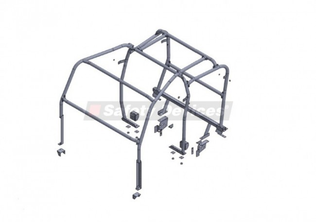 safety devices defender 110 double cab pickup external