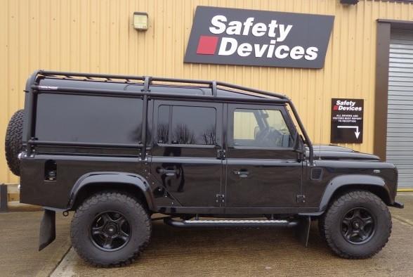 Safety Devices Defender 110 5 Door External Devon 4x4