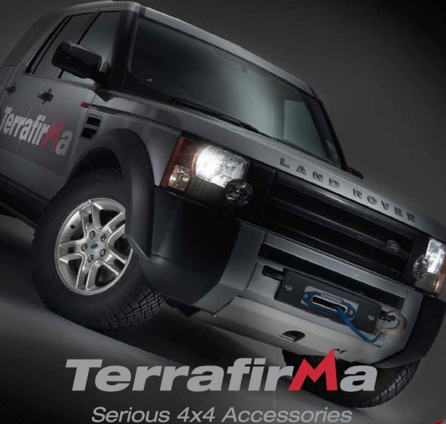 Winch Bumper With Led Lights By Rovers North For Discovery: Terrafirma Discovery 3 & 4 / Range Rover Sport Discreet