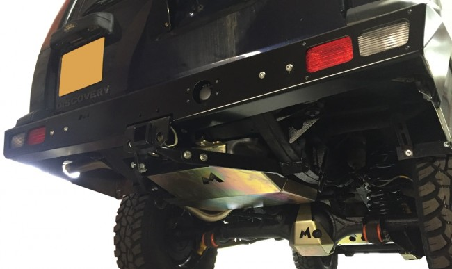 Terrafirma Rear Receiver Hitch Discovery 2 Devon 4x4