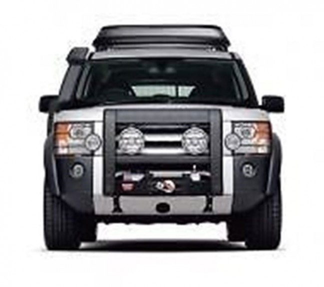 Winch Bumper With Led Lights By Rovers North For Discovery: Discovery 3 & 4 / RR Sport Mount & Warn 9.5 XP Winch