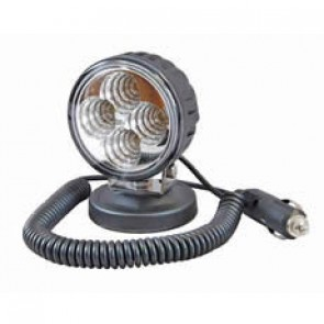 Durite LED Work Lamp 12/24V Magnetic Base 2.5m Flying Lead