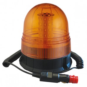 Durite Magnetic Mount Multifunction Amber LED Beacon - 12/24V