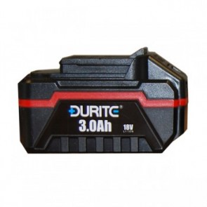 Durite 18 Volt Cordless Drill Driver Battery 3.0 Ah Lithium Ion