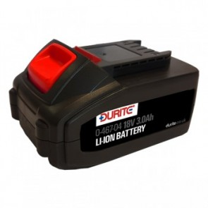 Durite 18 Volt Impact Wrench Battery 3.0 Ah Lithium Ion