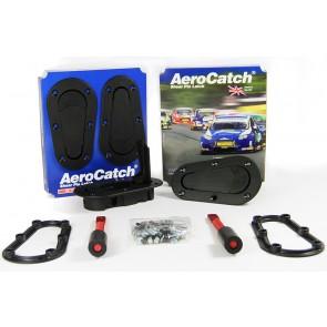 Aerocatch Bonnet Catch Kit - Black