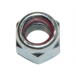 251323 Self Locking Nut Pack Of 100 7/16 BSF P-type zinc/clear