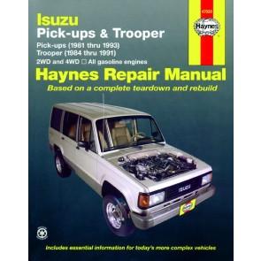 Haynes Isuzu Trooper & Pick-up 81-93 Repair Manual