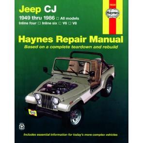 Haynes Jeep CJ (49 - 86) Repair Manual
