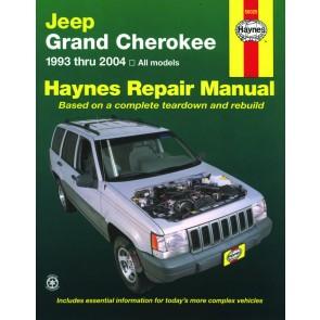 Haynes Jeep Grand Cherokee (93 - 04) Repair Manual