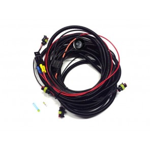 Lazer Four-Lamp Harness Kit with Switch (ST / T-2 / Triple -R)