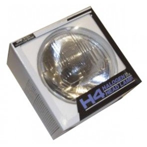 "7"" H4 Clear Headlight - RHD"