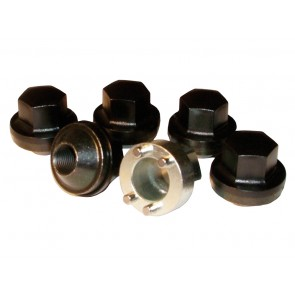RTC9535 Locking Wheel Nut Set Steel x 5 Def / D1 / RRC