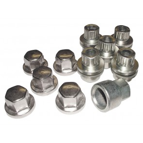 STC7623 Wheel Nut Set Alloy x 5 Def / D1 / RRC With Deep Dish Wheel