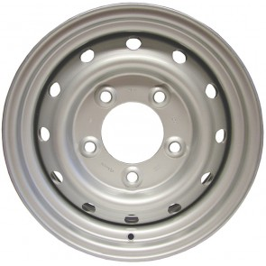 """Land Rover Wolf Style Wheel 6.5x16"""" - Silver"""