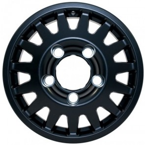 MaxXtrac Blindo Alloy Wheel 16X7 Disco 1 / RR Classic / Defender ET15 Black