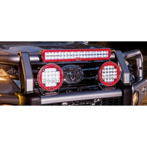 Led light bars devon 4x4 4x4 specialists arb intensity led combo light 20 aloadofball Image collections