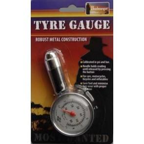 Bushranger dial tyre gauge