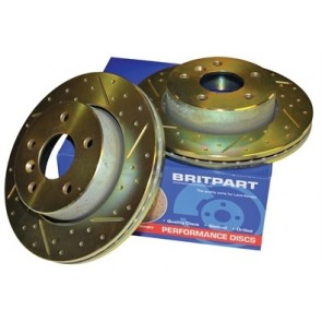 Britpart Performance Brake Discs suits Defender - 1987 - 2006 & 2007 onwards