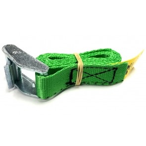 Cam Buckle Strap 1m x 25mm - Green