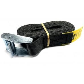 Cam Buckle Strap 3m x 25mm - Black