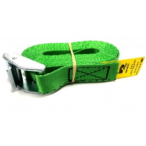 Cam Buckle Strap 3m x 25mm - Green