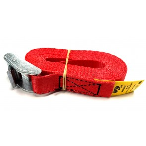 Cam Buckle Strap 3m x 25mm - Red