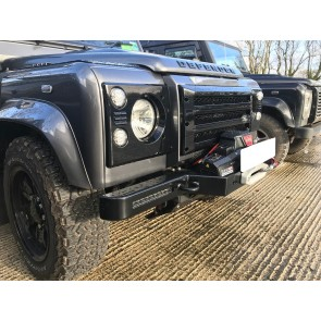 D44 Defender Clubman Bumper - Lowline Air Con Standard With LED Driving Lights Zeon
