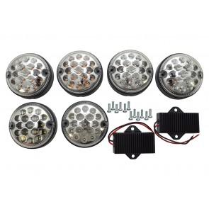 Britpart LED Rear NAS Light Upgrade Kit - Clear