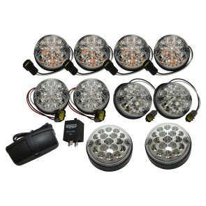 Wipac LED Light Kit for Defender / Series - Clear Deluxe