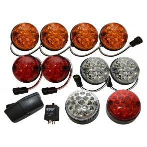 Wipac LED Light Kit for Defender / Series - Coloured Deluxe