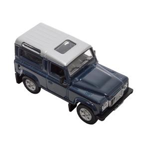 Die-cast Land Rover Defender Tamer Blue
