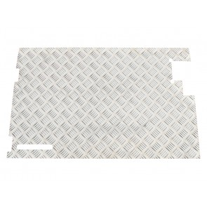 Britpart Defender Tailgate Chequer Plate - Without Wiper