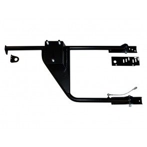 Britpart Defender Swing Away Wheel Carrier (Half Tailgate)