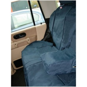 Britpart Waterproof Seat Covers - Blue - Rear - Discovery 2