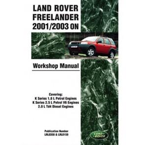 DA3147 Land Rover Freelander Work Shop Manual 2